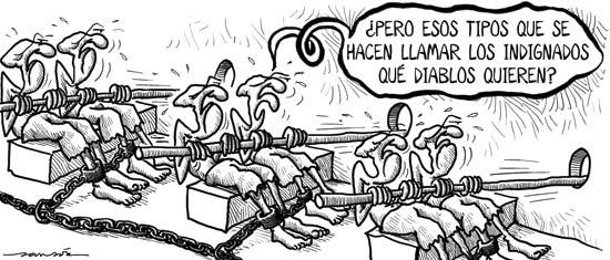 Resultado de imagen de Humor Gráfico sobre la esclavitud